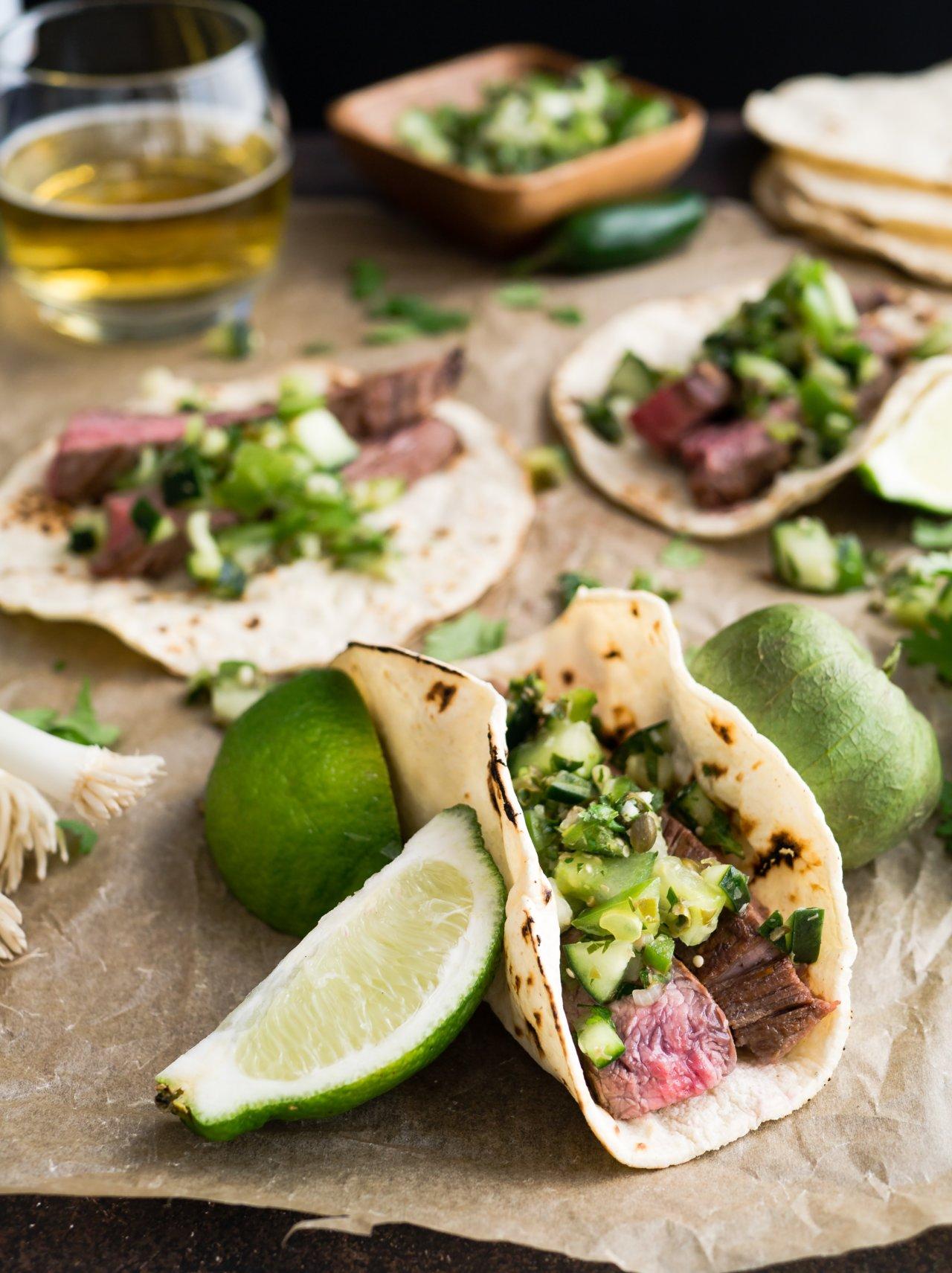 トルティーヤ、メキシコ料理