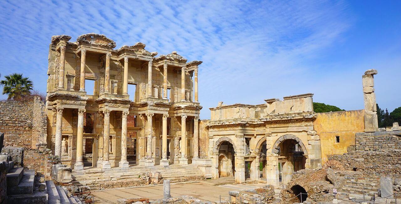 トルコ女子旅~エフェソス古代都市遺跡~