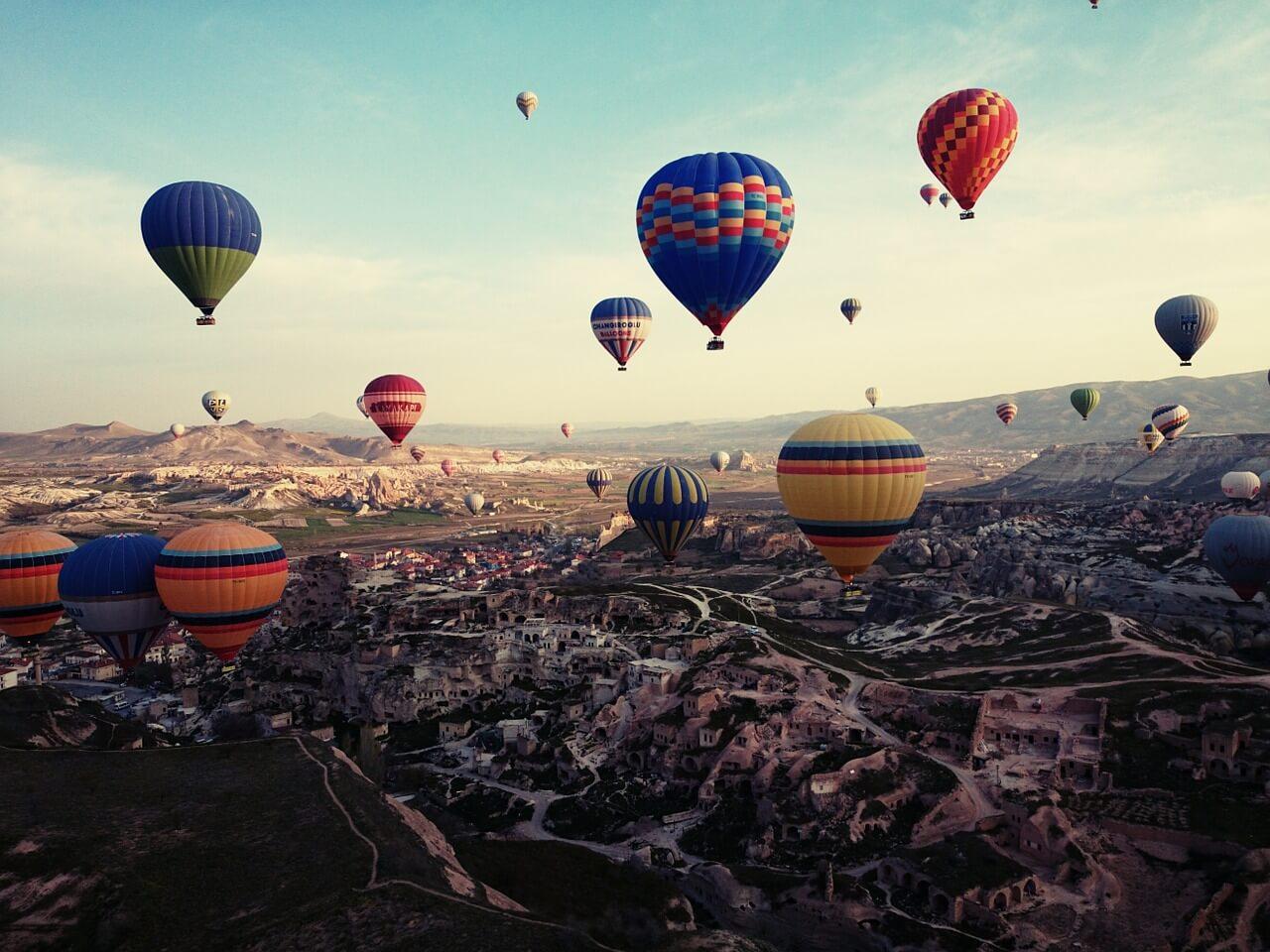 トルコ女子旅~カッパドキアの気球と洞窟ホテルに感動!~