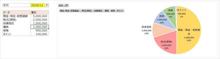 エクセル画面資産1