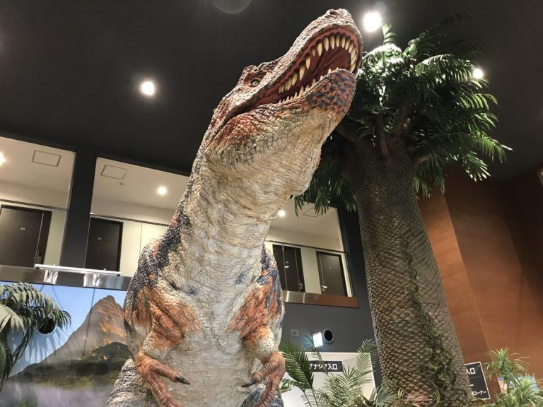 大迫力の恐竜