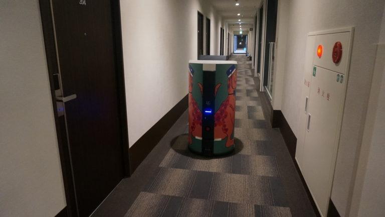 ルームサービスロボット